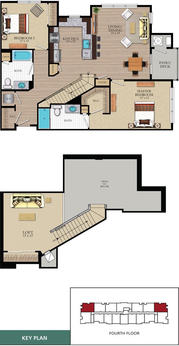 Broadlawn loft for Loft floor construction